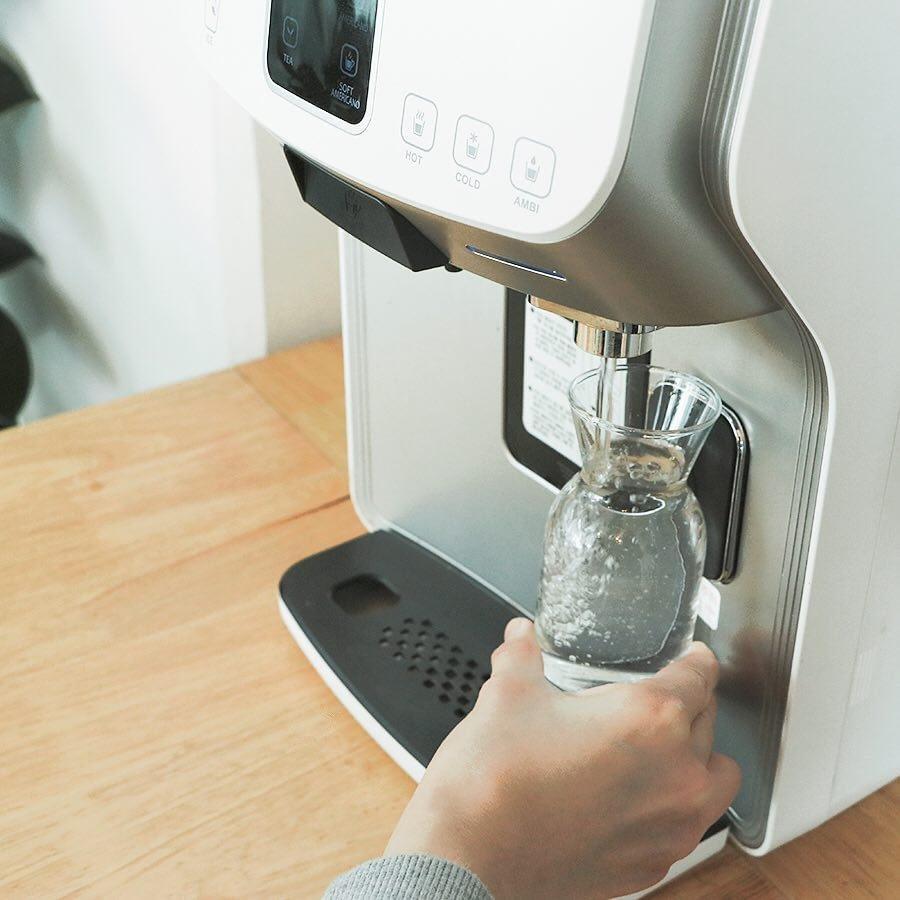 Agua Pura, Café Y Hielo Al Instante